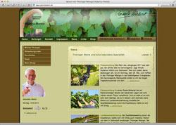 Website in neuem Fenster öffnen - Nordöstlich von Jena reifen seit Jahrhunderten ausgesuchte Weine