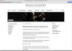 Beschreibung von www.music-academy.com