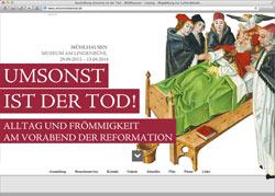 Website in neuem Fenster öffnen - Zeitreise durch den religiösen Alltag im Mittelalter feiert Premiere