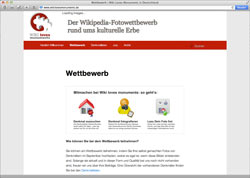 Beschreibung von www.wikilovesmonuments.de