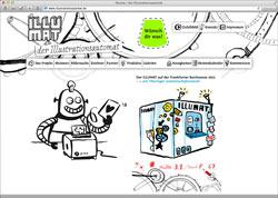 Website in neuem Fenster öffnen - Kreative Maschine erfüllt Besucherwünsche auf der Buchmesse