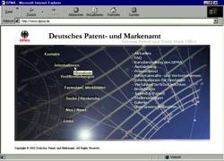 Beschreibung von www.dpma.de
