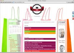 Website in neuem Fenster öffnen - Shopping-Kalender lockt in Innenstädte und Einkaufszentren