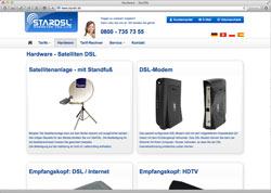 Website in neuem Fenster öffnen - Verschiedene Anbieter versprechen überall schnelles Internet über Satellit