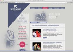 Beschreibung von www.theaterimpalais.de