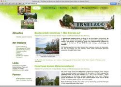 Website in neuem Fenster öffnen - Deutschlands einziger auf einer Insel gelegene Zoo begeistert in Altenburg