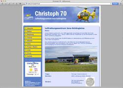 Website in neuem Fenster öffnen - Die Luftrettungsstation Jena-Schöngleina ist seit 20 Jahren in Betrieb