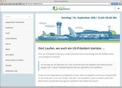 Website in neuem Fenster öffnen - Flughafen Erfurt-Weimar wird zur Wettkampfstätte für jedermann