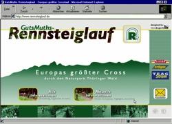 Beschreibung von www.rennsteiglauf.de