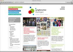 Beschreibung von www.jungforscher-thueringen.de