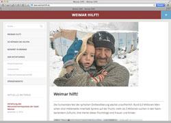 Website in neuem Fenster öffnen - Künstler, Politiker, Mediziner und Unternehmer wollen Flüchtlingen helfen