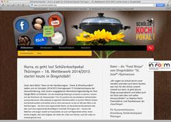 Website in neuem Fenster öffnen - Regionale Rezepte mit klimafreundlichen Lebensmitteln gefragt