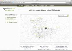Website in neuem Fenster öffnen - Portal stellt Lebensstationen und literarische Spielorte vor