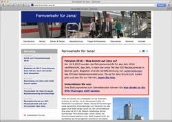 Website in neuem Fenster öffnen - Bis Sonntag leitet Website Kritik an künftigen Fahrplänen weiter