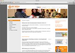 Website in neuem Fenster öffnen - Bundesverband der mehr als 900 Tafeln in Deutschland besteht seit 20 Jahren