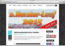 Beschreibung von www.harztorlauf.de