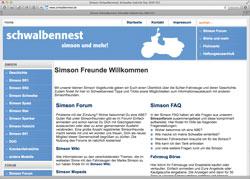 Beschreibung von www.schwalbennest.de