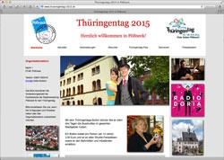 Website in neuem Fenster öffnen - Drei Tage mit Musik, Handwerk, Sportshows und Festumzug