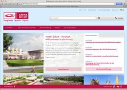 Website in neuem Fenster öffnen - Künftige Multifunktionsarena wirbt bereits um Tagungen und Kongresse
