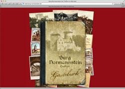 Beschreibung von www.burg-normannstein.de