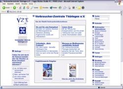 Beschreibung von www.vzth.de