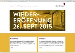 Website in neuem Fenster öffnen - Neue Dauerausstellung wird mit Konzert und Lichtinstallation eröffnet