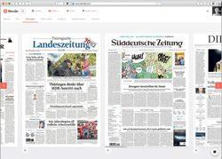 Website in neuem Fenster öffnen - Print-Portal verschenkt Startguthaben und verkauft einzelne Texte aus Zeitungen
