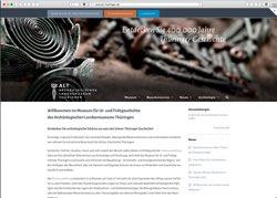 Website in neuem Fenster öffnen - Thüringer Fundstücke erlauben Blick in die Menschheitsgeschichte
