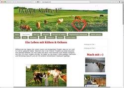 Website in neuem Fenster öffnen - In Hermsdorf werden Kühe in Ruhe alt und kommen nicht ins Schlachthaus