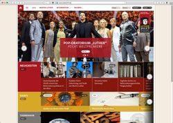 Website in neuem Fenster öffnen - Geschichte, Lutherstätten und Veranstaltungen zum Reformationsjubiläum 2017