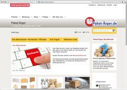 Website in neuem Fenster öffnen - Verbraucherzentrale sammelt zu Weihnachten Versand-Erfahrungen
