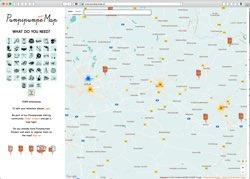 Website in neuem Fenster öffnen - Briefkastenaufkleber führen zu Bohrmaschine, Raclette und Beamer