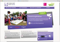 Website in neuem Fenster öffnen - Bis zu 5000 Euro Preisgeld für forschende Kindergärten