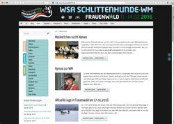 Website in neuem Fenster öffnen - Schlittenhundeführer gehen mit vier Hunderassen an den Start