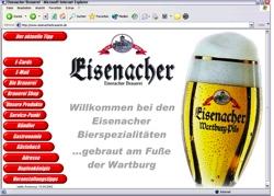 Beschreibung von www.eisenacherbrauerei.de
