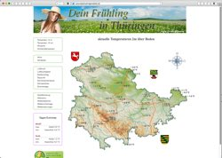 Beschreibung von www.dasthueringenwetter.de
