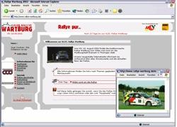 Beschreibung von www.rallye-wartburg.de