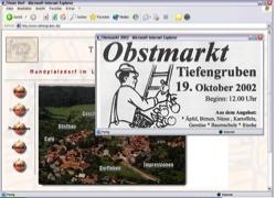 Beschreibung von www.tiefengruben.de